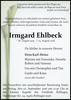 Irmgard Ehlbeck