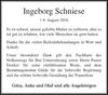 Ingeborg Schniese