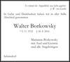 Walter Borkowsky