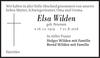 Elsa Wilden