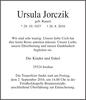 Ursula Jorczik