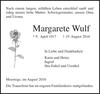 Margarete Wulf
