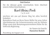 Karl-Heinz Peek