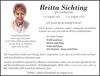Britta Sichting