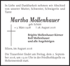 Martha Mollenhauer
