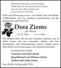 Dora Ziems