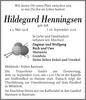 Hildegard Henningsen