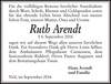 Ruth Arendt