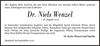 Dr. Niels Wenzel