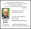 Peter John