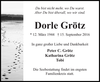Dorle Grötz