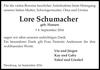 Lore Schumacher