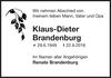 Klaus-Dieter Brandenburg