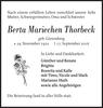 Berta Mariechen Thorbeck