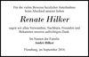 Renate Hilker