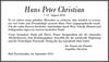 Hans Peter Christian