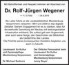 Dr. Rolf-Jürgen Wegener