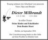 Dieter Milbrandt