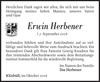 Erwin Herbener