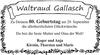 Waltraud Gallasch