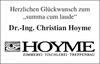 Dr.-Ing. Christian Hoyme