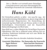 Hans Kühl
