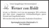 Werner von Holdt