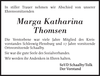 Marga Katharina Thomsen