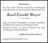 Karl-Ewald Mayer