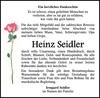 Heinz Seidler