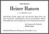 Heiner Hansen