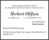 Herbert Ohlfsen