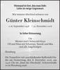 Günter Kleinschmidt
