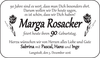 Marga Rosacker