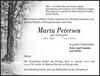 Marta Petersen