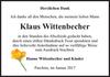 Klaus Wittenbecher