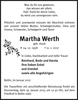 Martha Werth