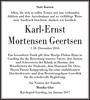 Karl-Ernst Mortensen Geertsen