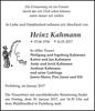 Heinz Kahmann