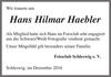 Hans Hilmar Haebler