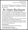 Dr. Günter Buschmann