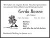 Gerda Bossen