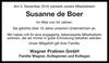 Susanne De Boer
