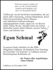 Egon Schmal