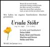 Ursula Stöhr