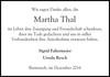 Martha Thal