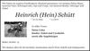 Heinrich (Hain) Schütt