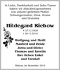 Hildegard Riebow