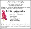 Frieda Grützmacher
