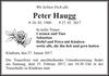 Peter Haugg
